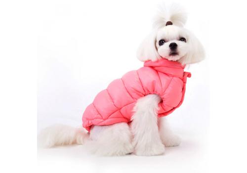"Куртка-пуховик ""Стиляга"" Puppy Angel 230 PA-OW, розовый#510, размер M/L"