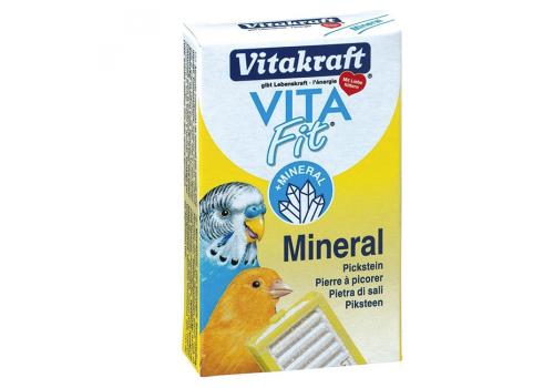 Камень минеральный Vitakraft Vita Fit Mineral для всех видов птиц, 1шт