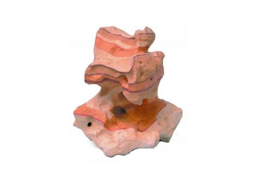 Камень Радужный, дырчатый С, искусственный