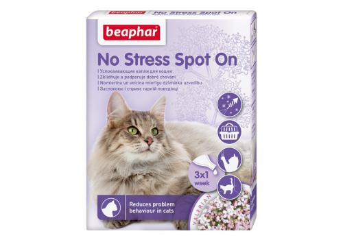 Капли Beaphar No Stress Spot On успокаивающие для кошек 1шт