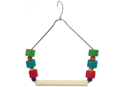 Игрушка для птиц Ferplast Качели-трапеция с игрушками PA4084