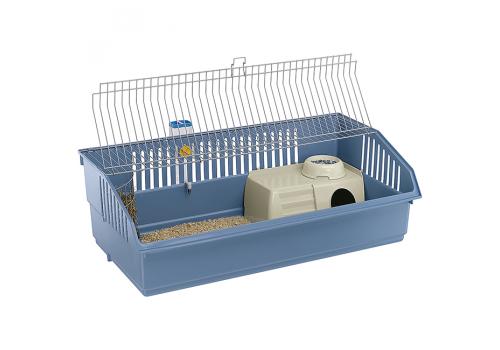 Клетка Ferplast Rabbit 100 Deluxe для кроликов, хром