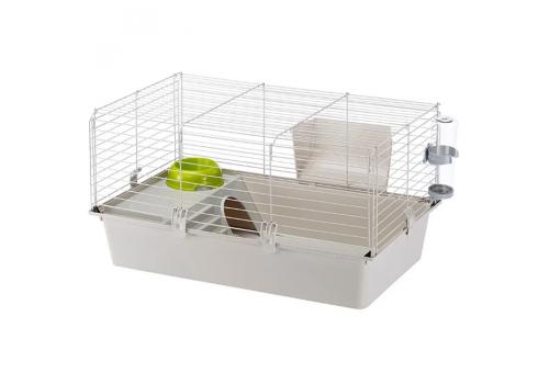 Клетка д/кроликов (цветная) бюджет CAVIE 80 NEW