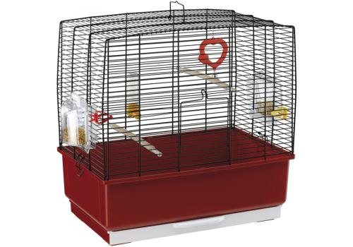 Клетка для птиц Ferplast REKORD 3, черная, 49x30x48,5 см.