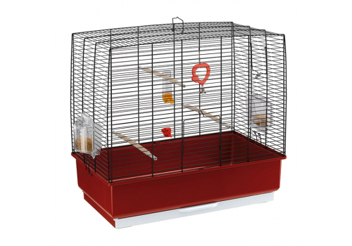 Клетка для птиц Ferplast Rekord 4, черный