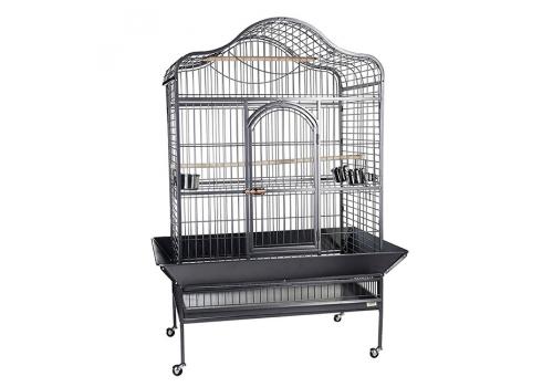 Клетка для птиц Kredo A09, пагода на колесах