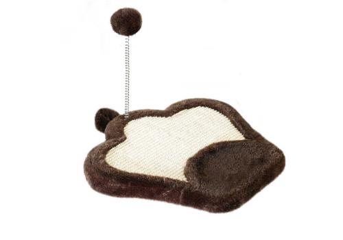 Коврик-когтеточка Ferplast РА 5620 для кошек, с мячиком на пружине