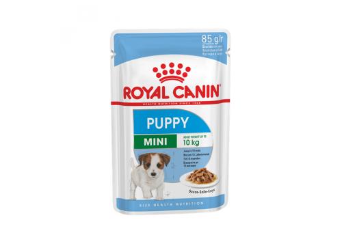 Корм влажный Royal Canin Mini Puppy (соус) для щенков и собак мелких пород 85г
