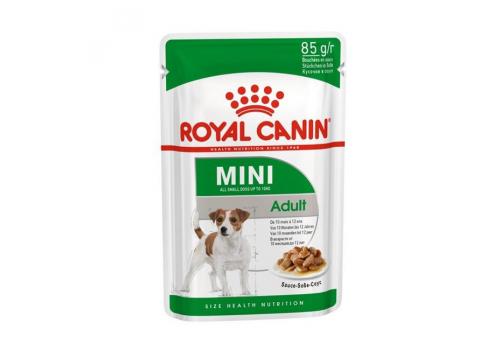 Корм влажный Royal Canin Mini Adult (соус) для собак мелких пород 85г