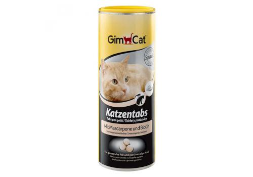 Витамины GimCat Табс, с маскарпоне и биотином, 1шт