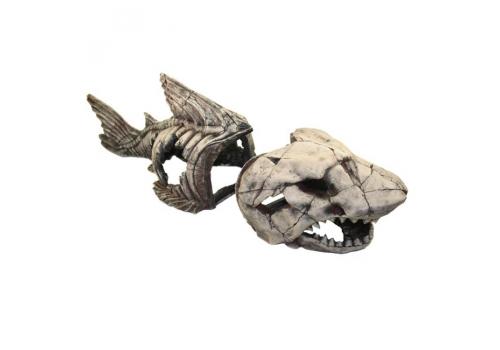 Декорация Deksi Скелет рыбы  №999