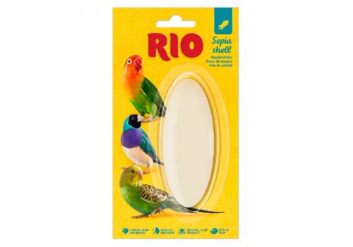Кость сепии (панцирь каракатицы) RIO для птиц, 10см