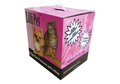 Пеленки впитывающие Lilli Pet DOGGY PADS для собак, 48Х40см, 100шт