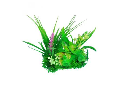 Композиция из пластиковых растений Prime PR-M616, 15см