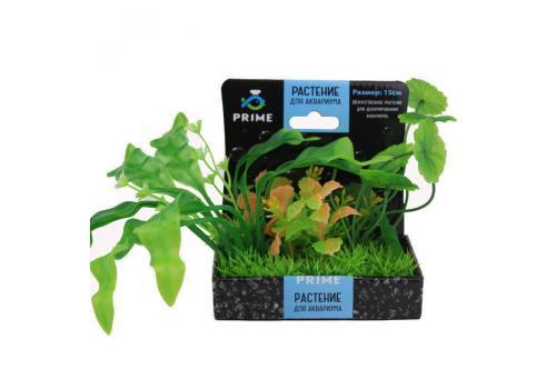 Композиция из пластиковых растений Prime PR-M618, 15см
