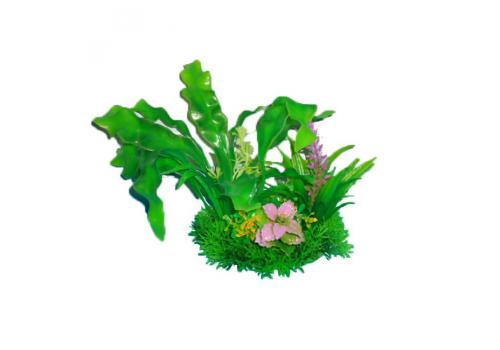 Композиция из пластиковых растений Prime PR-M619, 15см