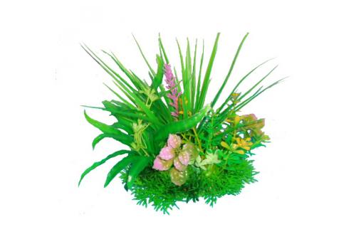 Композиция из пластиковых растений Prime PR-M621, 15см