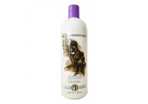 Кондиционер 1 All Systems Color Botanical Conditioner Platinum, платина 473мл