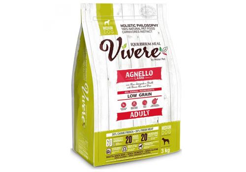 Корм Vivere Ягненок для собак средних пород 3кг