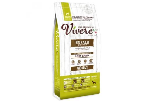 Корм Vivere Буйвол для собак средних пород 12кг