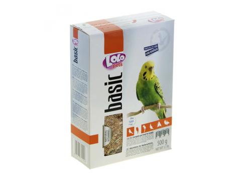 Корм для волнистых попугаев , LO-LO Pets 500г