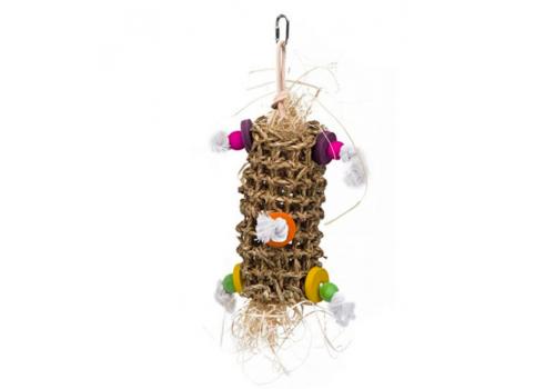 """Игрушка для птиц Penn-Plax """"Подвеска плетеная"""", малая, 25x13x13см"""