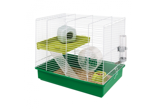 Клетка Ferplast Hamster Duo для хомяков, 46х29х37,5см