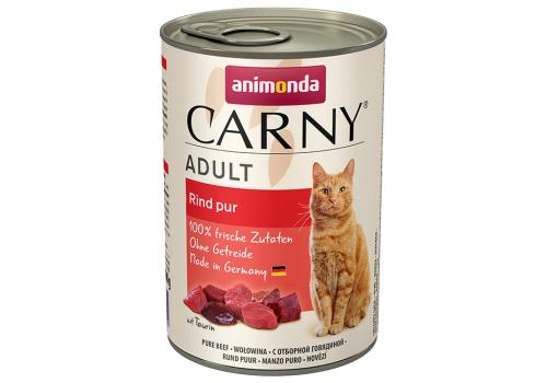 Консервы Animonda Carny Adult для кошек, с отборной говядиной 400г