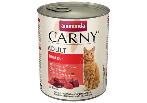 Консервы Animonda Carny Adult для кошек, с отборной говядиной 800г