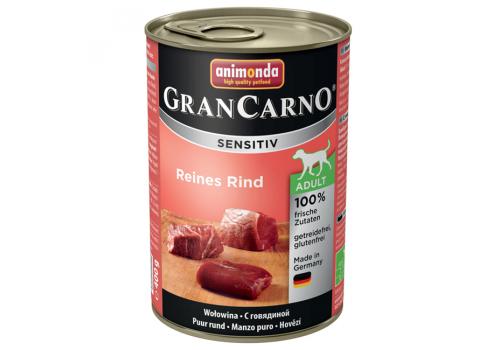 Консервы Animonda Gran Carno Sensitiv для собак, с говядиной 400г