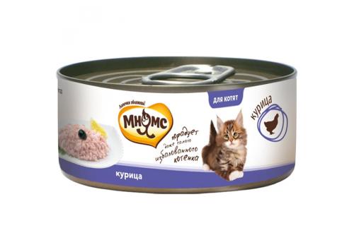 Консервы Мнямс для котят Курица в нежном желе 70 г