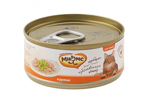 Консервы Мнямс для кошек Курица в нежном желе 70г