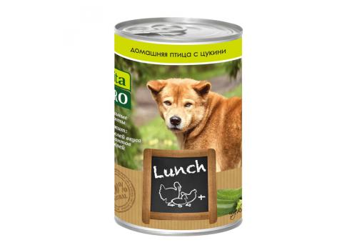 Консервы Vita Pro Lunch для собак, с домашней птицей и цукини 400г
