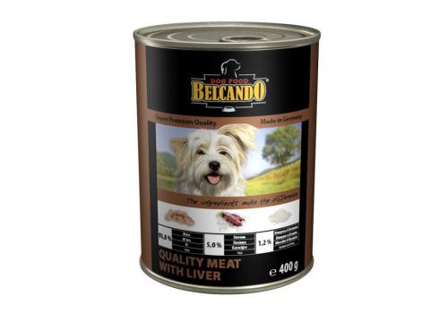 Консервы Belcando Quality Meat для собак, с мясом и печенью, 400г