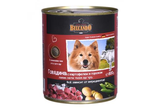 Консервы Belcando Quality Meat для собак, с говядиной, 800г