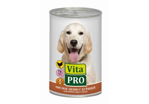Консервы Vita Pro для собак, с курицей 400г