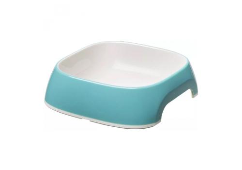 Миска Ferplast GLAM XS пластиковая, голубая, 0,2л
