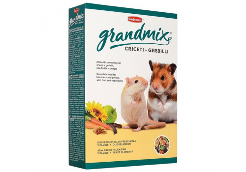 Корм GRANDMIX Criceti комплексный/основной для хомяков и мышей, 400г