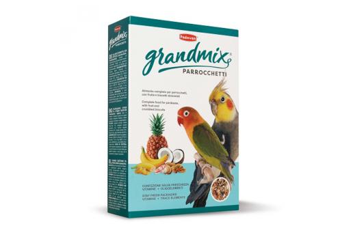 Корм для средних попугаев Padovan Grandmix parrocchetti, 850г