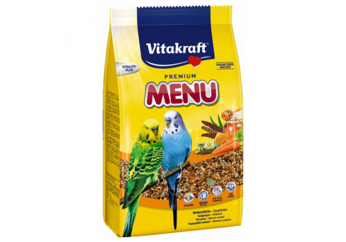 Корм для волнистых попугаев Vitakraft Menu Vital, 500г