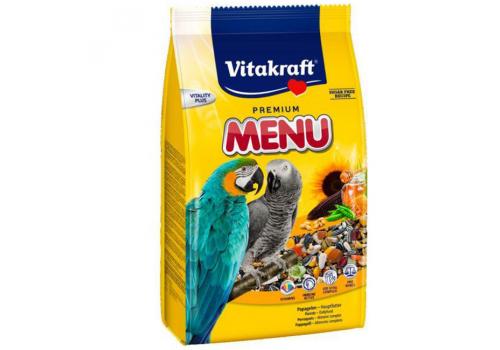 Корм для крупных попугаев, универсальный Vitakraft Menu, 1кг