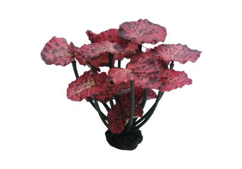 Растение шелковое Prime Нимфея,краповое  20см
