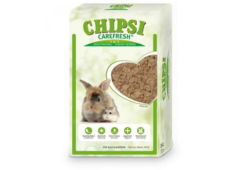 Бумажный наполнитель для мелких животных и птиц Chipsi CareFresh Original, 14л