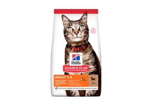Корм Hill's SP Optimal Care Adult для кошек, с ягненком 1.5г