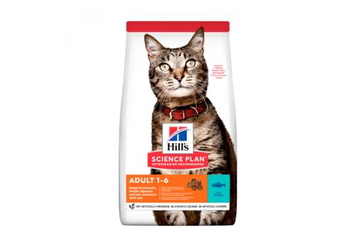 Корм Hill's SP Optimal Care Adult для кошек, с тунцом 300г