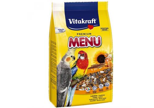 Корм для средних попугаев, универсальный Vitakraft Menu, 1кг