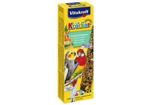 Лакомство для птиц Vitakraft Крекеры для австралийских попугаев медовые, 2шт