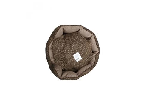 Лежанка Lilli Pet Princess King 55х49х19 коричневая