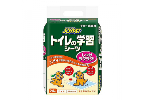 Пелёнки Joypet для приучения собак к туалету, широкие, 24шт