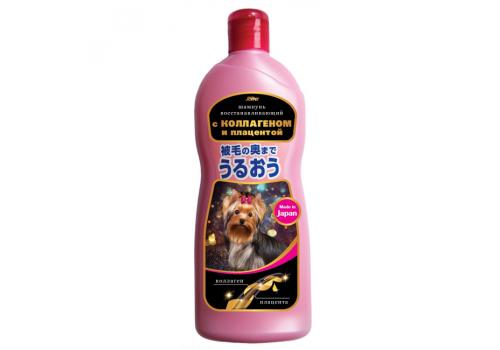 Шампунь Joypet для собак и кошек, с коллагеном и плацентой, аромат нежных роз, 350мл